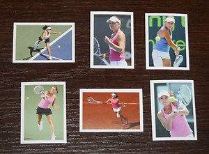 2011 Top Tennis 151 156 Agnieszka Radwanska Poland sport RARE stickers