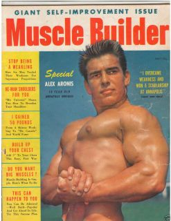 Bodybuilding Fitness Magazine 18 Year Old Alex Aronis 5 54