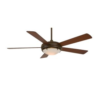 Minka Aire F603 ORB Como Bronze 54 Ceiling Fan w Light Wall Control