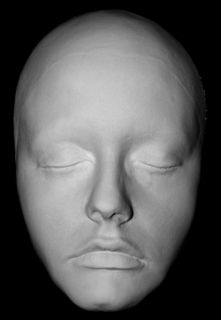 Alicia Silverstone Life Mask Face Life Cast in Light Weight White