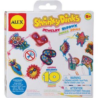 alex toys shrinky dinks good time jewelry 493j make your own jewelry