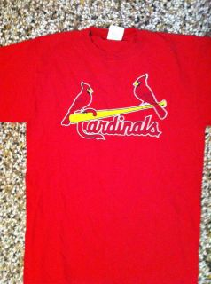 Vintage Albert Pujols St Louis Cardinals shirt MLB Majestic Large