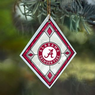 to enlarge alabama crimson tide art glass ornament your crimson tide