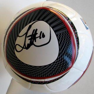 Landon Donovan Signed Adidas 2010 FIFA World Cup Ball US Soccer EPL La