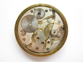Alpina Cal 335 Pocket Watch Movement Dial Swiss Repair