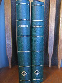 Lighthouse Liechenstein Stamp Albums 2