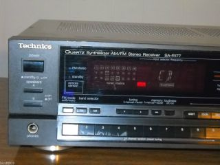 Technics Quartz Synthesizer Am FM Stereo Receiver SA R177