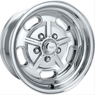 American Racing Polished Salt Flat Special Wheel 15 x6 5x4 75 BC
