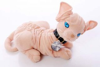 Austin Powers Dr Evil Mr Bigglesworth Talking Cat Plush Dont Gnaw on