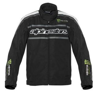 Alpinestars Howler Waterproof Jacket Black Green Size XX Large