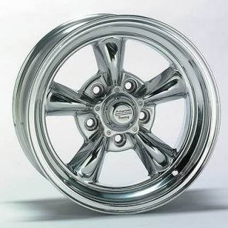 American Racing Torq Thrust II Polished Wheel 15 x6 5x4 5 BC