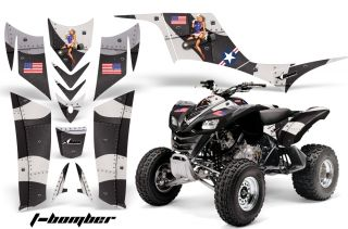 AMR Racing ATV Graphic Kit Kawasaki Quad KFX700 KFX 700