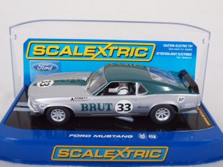 C3002 1 32 Scale Slot Car Ford Mustang Allan Moffat No 33