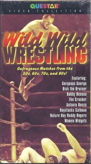 Wrestling Outrageous Matches VHS Andre The Giant Women Midgets