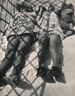 1931 Photo Gravure Plate Sleeping Children Hungary Photography Art