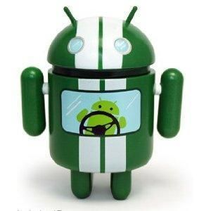Racer Android Series 02 Mini Vinyl Toy Figure Andrew Bell