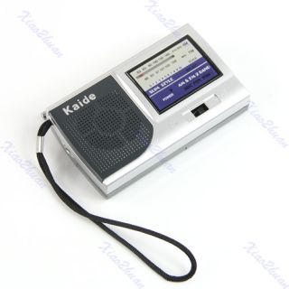 Portable Am FM Pocket Radio 2 Bands Receiver DC 3V Mini