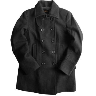 Alpha Industries Olivia Classic US Navy Pea Coat Fitted for A Lady s