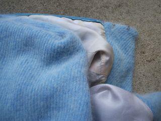 vintage blue angora cashmere sweater dress m