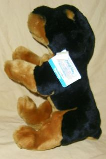 Animal Alley Toys R US Soft Plush Rottweiler Puppy Dog