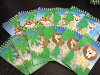 12 Zoo Jungle Animal Teacher Supply Party Favors Pinata Lion Monkey