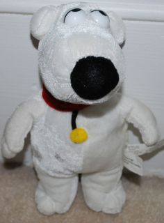 Plush Toy Stuffed Animal Family Guy White Cartoon Dog