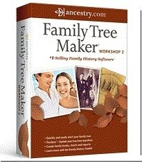 New Family Tree Maker Workshop 2 Ancestry Com Sealed Retail CD