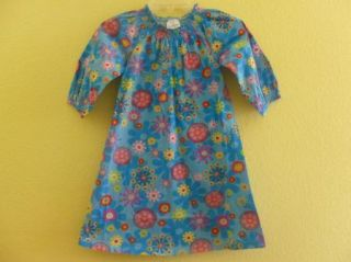 Hanna Andersson Girl 130 Dress Whimsical Floral School Picture Fall