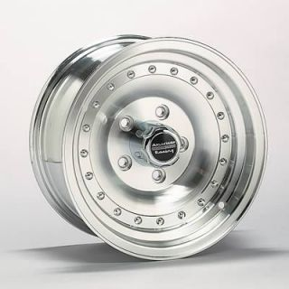 American Racing Wheel Outlaw I Aluminum Natural 15x8 5x5 3 75 Pair