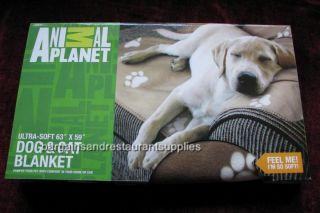 Animal Planet Ultra Soft Dog Cat Blanket 63 x 59
