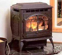 vintage cast iron corn wood pellet stove furnace new limited