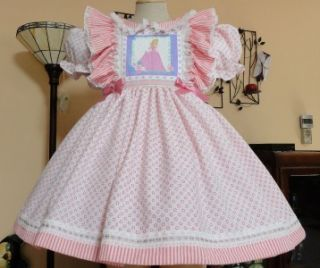 Adult Sissy Baby Dress Pretty Princess by Annemarie