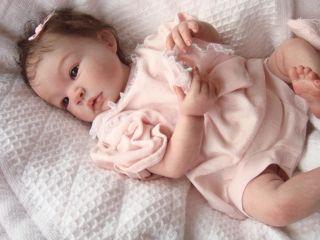 Reva Schick Noah OOAK Reborn Baby Boy Angel Kisses from Heaven Nursery