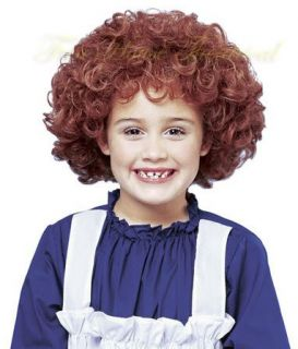 ORPHAN ANNIE NATURAL RED WIG Halloween Costume Accessory 21057