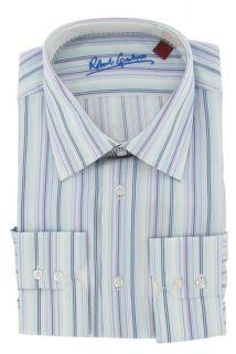 Robert Graham Anthony Mens Woven Dress Shirt 2012 Holiday Style Size