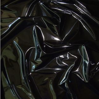 SHINY HIGH GLOSS PVC STRETCH RUBBER VINYL PLEATHER GOTHIC SEXY FETISH