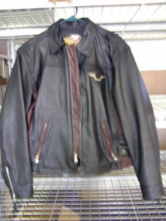 95th Anniversary Harley Davidson Womens XL Leather Jacket