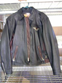 95th Anniversary Harley Davidson Womens XL Leather Jacket