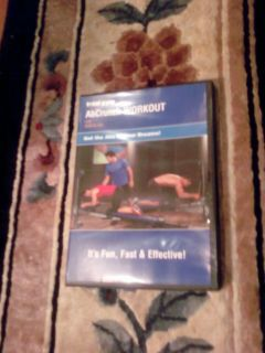 total gym abcrunch ab crunch workout dvd brand new free
