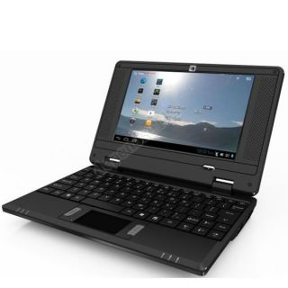 New Black 7 WM8850 Android 4 0 Mini Netbook Laptop WiFi Camera HDMI