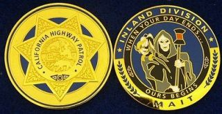 Highway Patrol Police Accident Investigation MAIT Challenge Coin