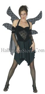Serephine The Fallen Angel Dark Goth Sexy Adult Costume