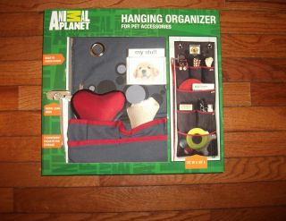 Animal Planet Hanging Organizer for Dog Leashes Toys Built in Photo
