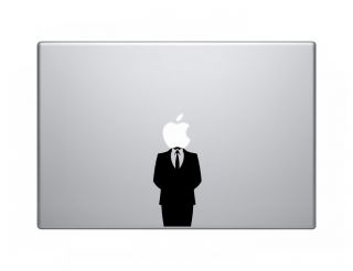 Anonymous Anon Vinyl Decal Sticker Skin Apple MacBook Pro Air Mac 13