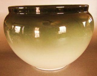 Antique Eocean Weller Art Pottery Big Jardiniere Stunning Iris Signed