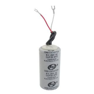 listed 300MFD 300uF AC 250V 5% Metallized Paper Motor Start Capacitor
