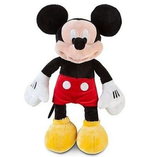 Disney Mickey Mouse Stuffed Plush Doll Ultra Soft Classic Medium 12