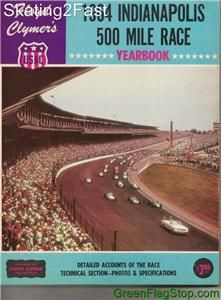 1964 Indianapolis 500 Floyd Clymers Yearbook History A.J. Foyt