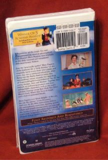 Walt Disney Mary Poppins 40th Anniversary Ed VHS New