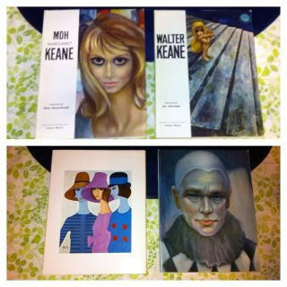 Tomorrows Masters Series MDH Margaret Keane Walter Keane 2 Vol Box Set